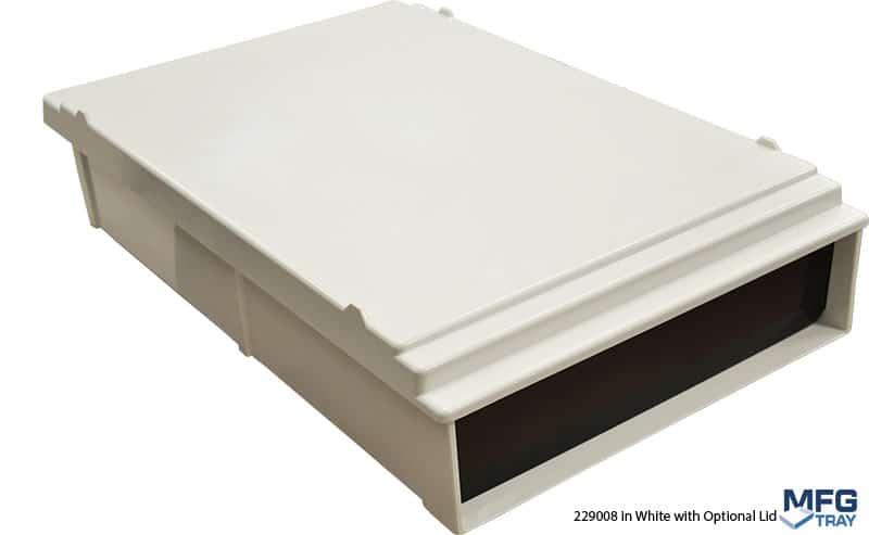 229008-White-w-229118-Lid Vial Loading Trays