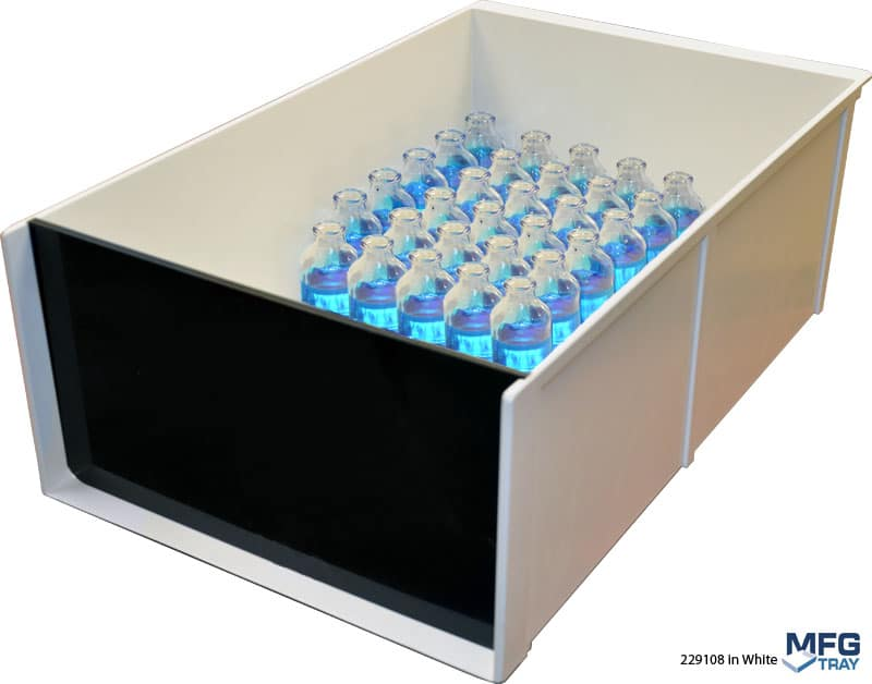 229108-White Vial Loading Trays
