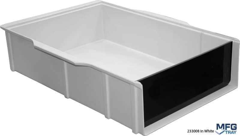 233008-White Vial Loading Trays