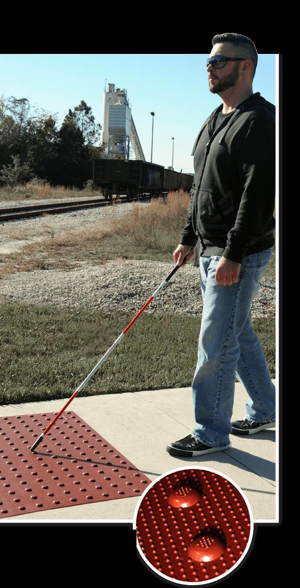 ADA-pad-man-walking Ultra ADA Pads