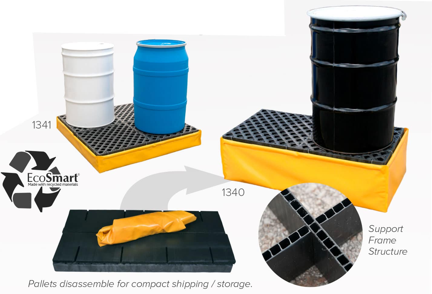 flexible-pallets Ultra Spill Pallet Flexible Model