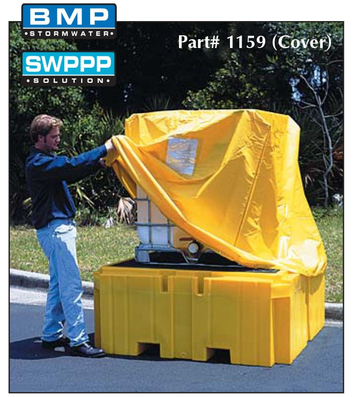 ibc-1 Ultra IBC Spill Pallet Plus