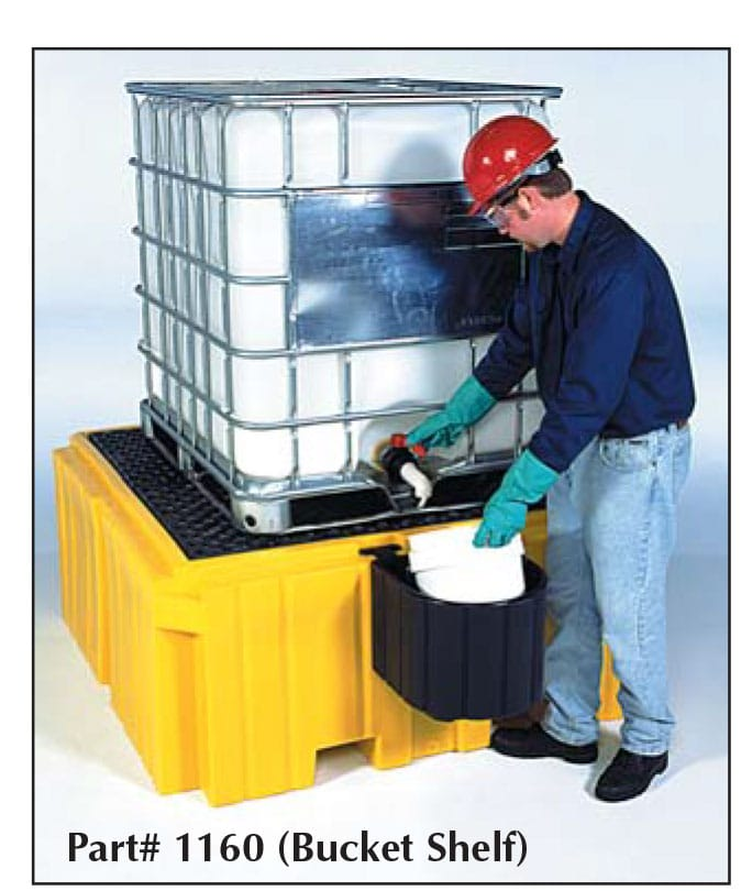 ibc-3 Ultra IBC Spill Pallet Plus