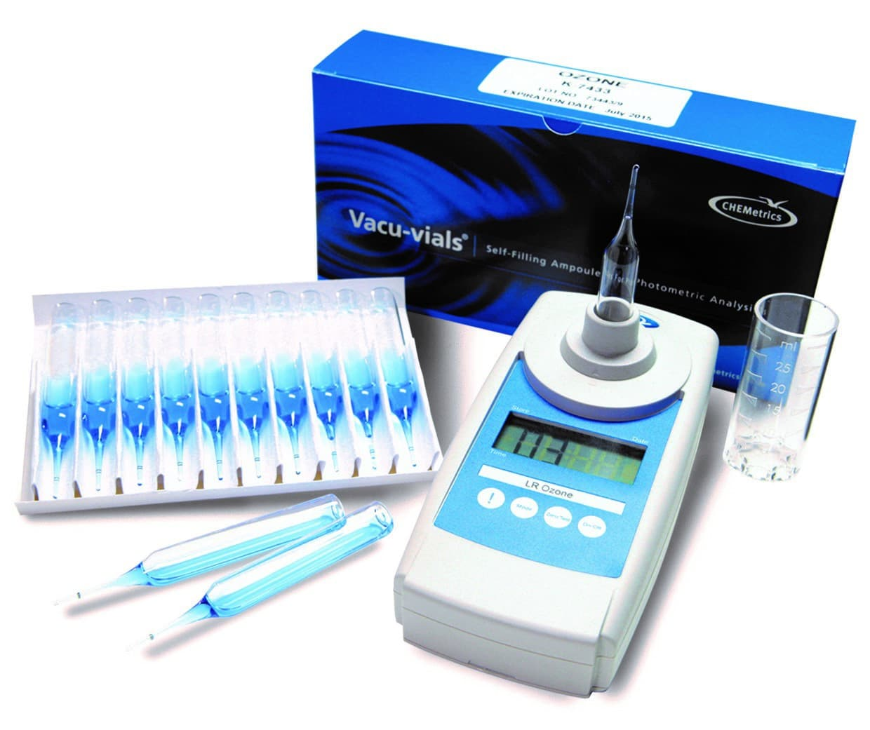 ozone_indigo_Kit CHEMetrics Water Test Kits