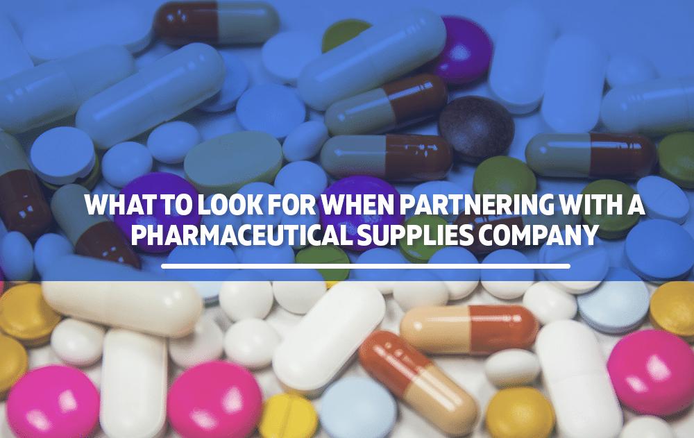 pharmaceutical supplies